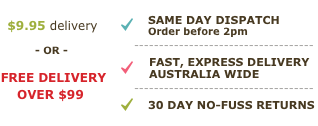 Free Express Delivery Australia Wide Over $99